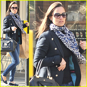 Pippa Middleton Is Only One Month Away From Being Aunt Again