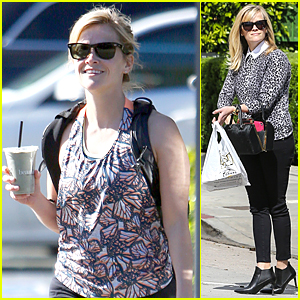 Reese Witherspoon Is Beaming After Her Healthy Workout