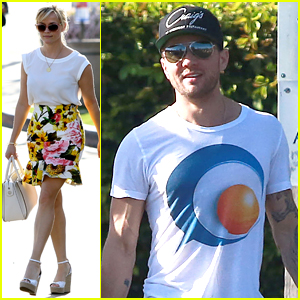 Reese Witherspoon & Ryan Phillippe Reunite For Deacon's School Function