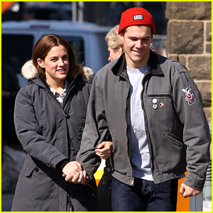 Riley Keough Gets a Set Visit from Hubby Ben Smith-Petersen