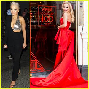 Rita Ora Is Red Hot for Coca-Cola's Contour Bottle 100th Anniversary Celebration!