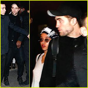 Robert Pattinson & FKA twigs Leave Her Paris Concert Together