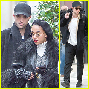 Robert Pattinson & FKA twigs Spend Time Together Before Paris Concert