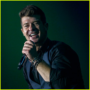 Robin Thicke Makes First Public Appearance Since Losing 'Blurred Lines' Lawsuit
