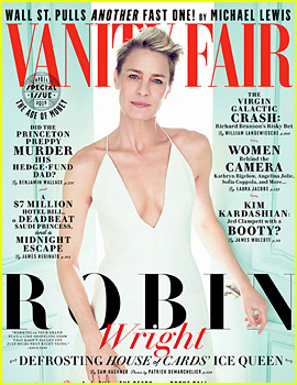 Robin Wright Talks Ex Husband Sean Penn, Fiance Ben Foster with 'Vanity Fair'