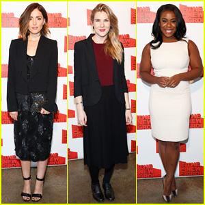 Rose Byrne, Lily Rabe, & Uzo Aduba Make It A Classy Night at New Group Gala 2015!
