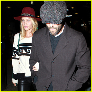 Rosie Huntington-Whiteley & Jason Statham Land Back in L.A. Together