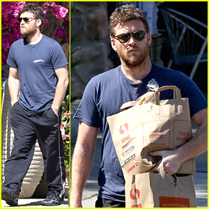 Sam Worthington Steps Out After Welcoming Baby Boy