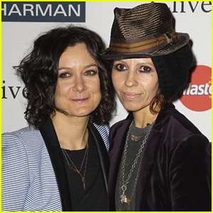 Sara Gilbert & Linda Perry Welcome Baby Boy Rhodes - See His First Photo!