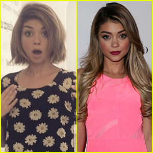 Sarah Hyland Chops Her Hair Off Into a Chic Summer Bob!