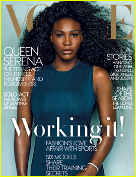Serena Williams Looks Stunning for 'Vogue' Cover Story!