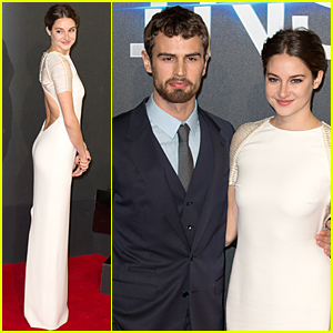 Shailene Woodley Goes Backless at 'Insurgent' London Premiere