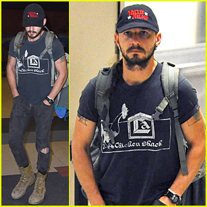Shia LaBeouf Jets Back to Los Angeles Following Court Hearing In NYC