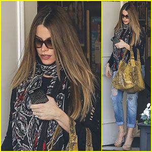 Sofia Vergara Treats Herself to a Day at the Salon