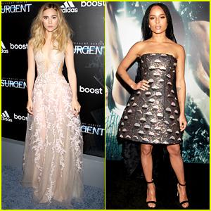 Suki Waterhouse & Zoe Kravitz Are the 'Insurgent' Fashionistas!