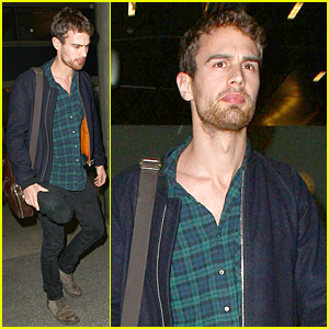 Theo James' Fans Give Him Very Cheeky Gifts