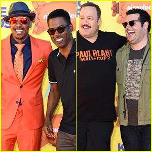 These Funny Guys Hit the Kids' Choice Awards 2015 Orange Carpet!