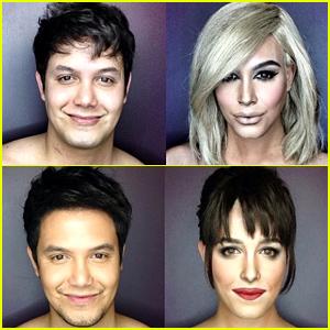 This Makeup Artist Completely Transforms Himself Into Dakota Johnson, Kim Kardashian & More!