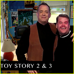 Tom Hanks & James Corden Perform Every Tom Hanks Movie in Under 7 Minutes - Watch Now!
