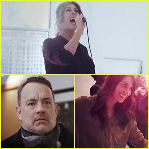 Tom Hanks & Sara Bareilles Cameo in Rita Wilson's 'Girls Night In' Music Video - Watch Now!