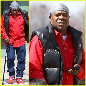 Tracy Morgan Uses Cane To Walk After Walmart Pays $10 Million to James McNair's Family