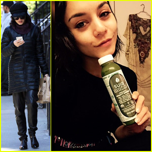 Vanessa Hudgens Spends Time With Sister Stella in the Big Apple