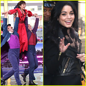 Vanessa Hudgens Sings 'The Night They Invented Champagne' On Good Morning America With 'Gigi' Cast