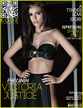 Victoria Justice Shows Off Her Amazing Body for 'Kode' Mag (Exclusive)
