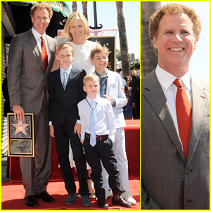 Will Ferrell Gets Honored with Star on the Hollywood Walk of Fame: 'I Feel Extremely Fortunate'