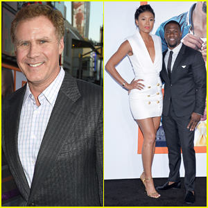 Will Ferrell & Kevin Hart Visit 'The Late Late Show' Following 'Get Hard' L.A Premiere - Watch Here!