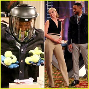 Will Smith & Margot Robbie Get Goofy for Spanish Talk Show!