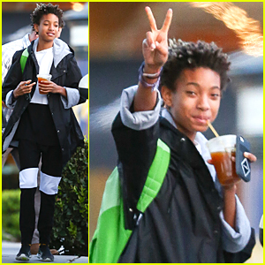 Willow Smith's Brother Jaden Confirms Their Wireless Festival Performance!