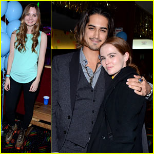 Zoey Deutch & Avan Jogia Throw It Back with JJ & Monster High