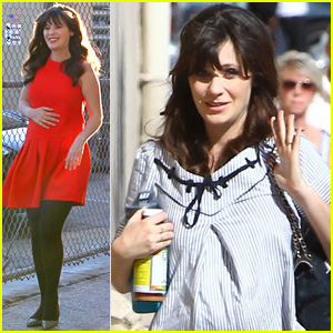Zooey Deschanel Has to Carry a Lot of Bags to Hide Pregnancy While Filming 'New Girl'