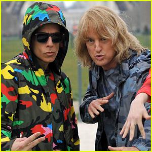 Zoolander & Hansel (Ben Stiller & Owen Wilson) Do an Epic Photo Shoot in Paris!