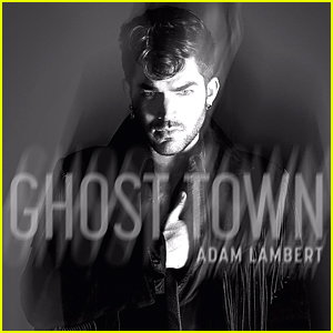 Adam Lambert Shares 'Ghost Town' Artwork & Teaser - Listen Now!