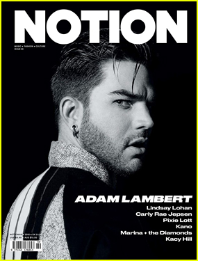 Adam Lambert Opens Up About Fame in 'Notion': 'It's Not Freaking Me Out Anymore'