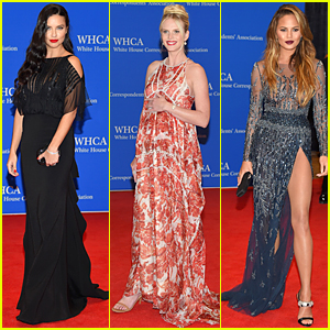 Adriana Lima & Anne V Are Stunners at White House Correspondents' Dinner 2015