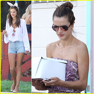 Alessandra Ambrosio is a Sexy Bunny for Easter