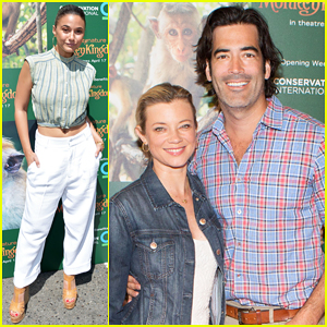 Amy Smart, Emmanuelle Chriqui, Taye Diggs & More Make It A Family Event at 'Monkey Kingdom' Premiere!