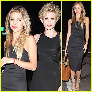 AnnaLynne McCord & Sis Angel Enjoy Girls' Night at Craig's