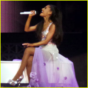 Ariana Grande Slays with Whitney Houston's 'I Have Nothing' for Honeymoon Tour (Video)