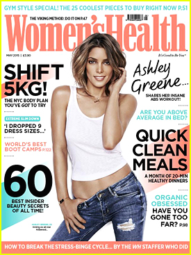 Ashley Greene Opens Up About Fitness In 'Women's Health UK' April 2015