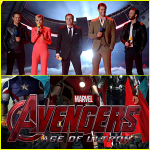 Avengers Assemble! Cast Honors Robert Downey, Jr. & Debuts New Clip at MTV Movie Awards 2015 - Watch Now!