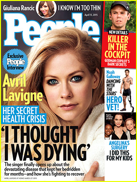 Avril Lavigne on Her Lyme Disease Battle: 'I Thought I Was Dying'