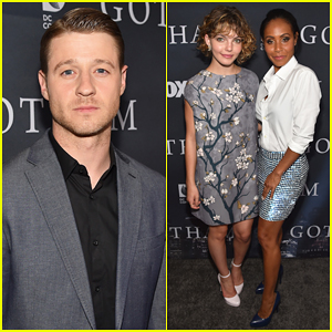 Ben McKenzie & Jada Pinkett Smith Get Together with 'Gotham' Cast for Season One Finale Screening!