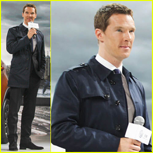 Benedict Cumberbatch Becomes MG Motors Ambassador for China - Watch His New Ad Here!