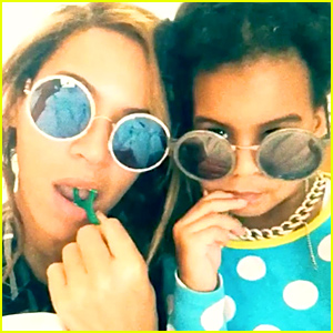 Beyonce & Blue Ivy Keep Up Their Dental Hygiene in Fun Instagram Post