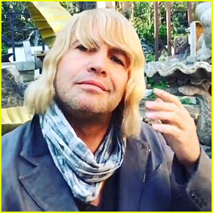 Billy Zane Sports Hansel Wig & Announces 'Zoolander 2' Role (Video)