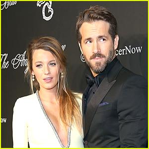 Blake Lively Pokes Fun at Ryan Reynolds' Wandering Eye
